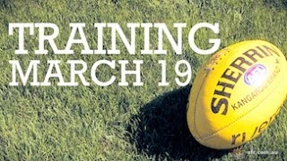 Crows Training March 19