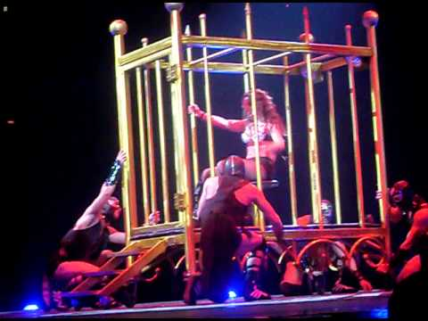 The circus starring Britney Spears in Stockholm - Piece of me