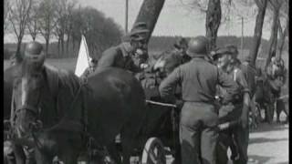 German soldiers surrender in West Bohemia 1945 part 1