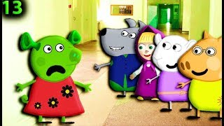 Мультики для детей свинка пеппа на русском новые серии 13 СВИНКА ПЕППА ШРЕК Мультик Свинка пеппа