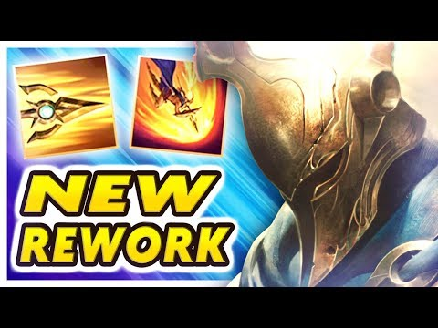 Nightblue3 - NEW PANTHEON REWORK IS AMAZING | THIS IS WHY I JUNGLE AGAIN