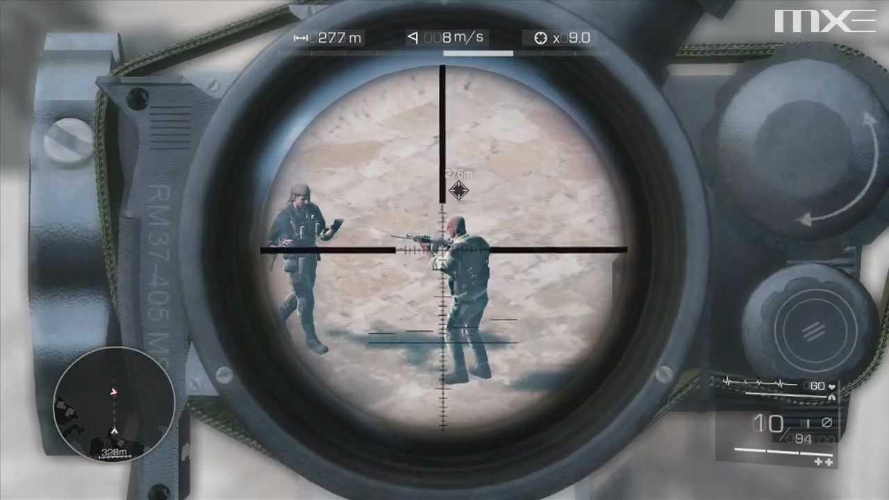 Человек снайпер играть