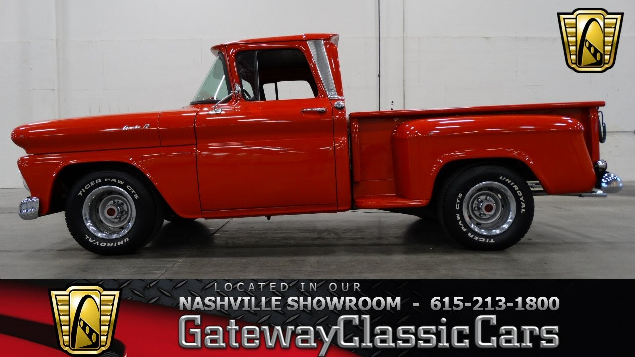 Pickup 61 chevy pickup : 1961 Chevrolet Apache - Gateway Classic Cars of Nashville #20 ...