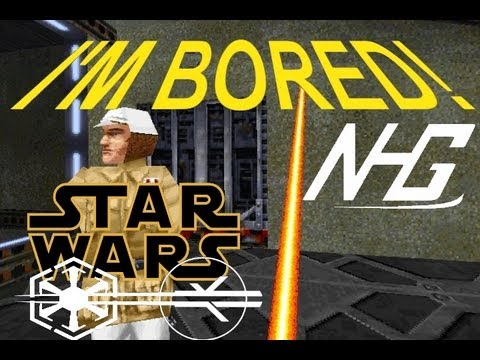 I'M BORED - Star Wars Jedi Knight Mysteries Of The Sith - NHG Playes  