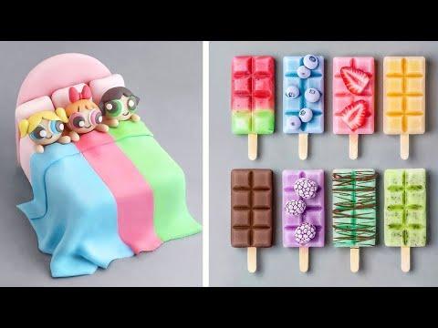 Amazing Birthday Cake Decorating Tutorial | Easy Dessert Recipe | So Yummy Cake Decorating Ideas