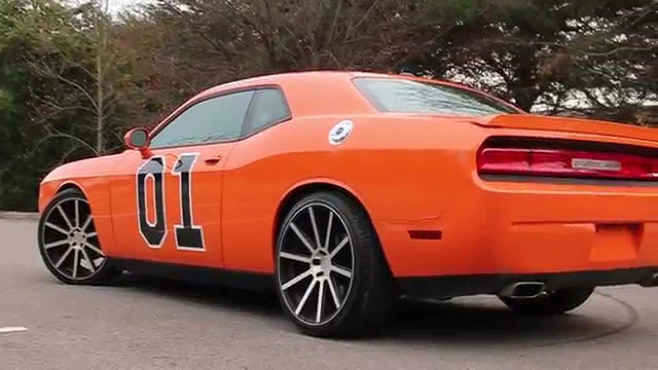 2014 'General Lee' Dodge Challenger HEMI Dukes of Hazzard SOLD!!