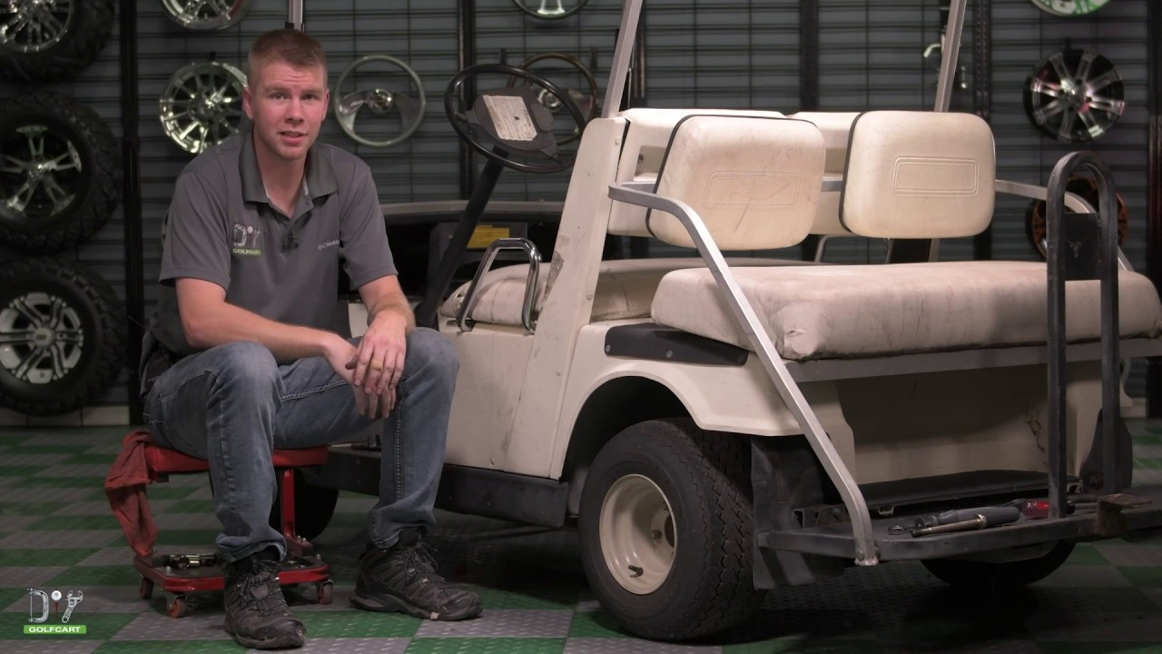 yamaha g9 clutch installation how to diy golf cart [ 1280 x 720 Pixel ]