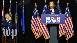 Biden and Harris's first event together, in 3 minutes