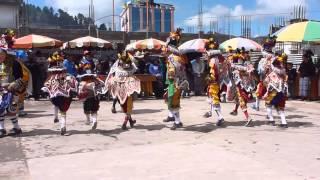 Baile del Torito, Feria de Santa Eulalia, Guatemala 2013
