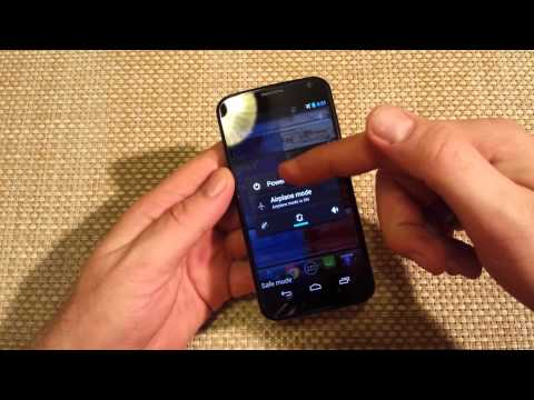 Motorola Moto X enter and exit Safe Mode steps and instructions for safe mode MotoX series