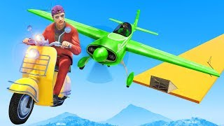Dodge The Plane OR LOSE! - GTA 5 Funny Moments