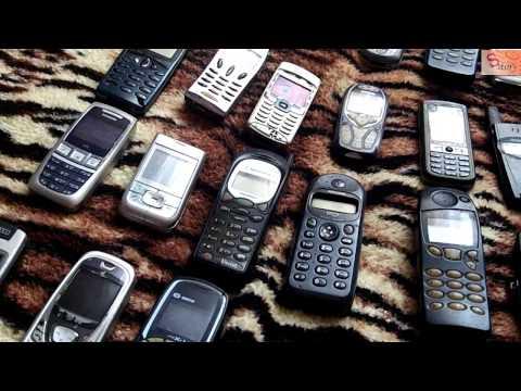 Моя коллекция  мобильных телефонов