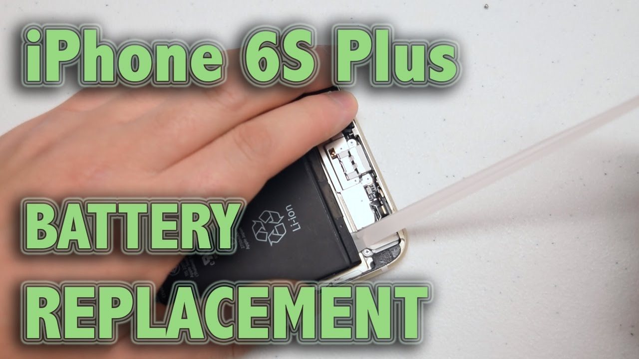 iPhone 6S Plus Battery Replacement - YouTube