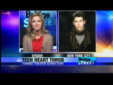 Nick Jonas interview on Bridge Street