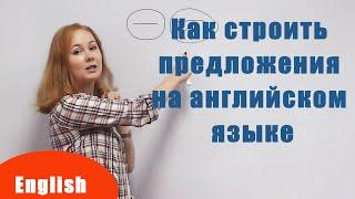 Как строить предложения на английском языке - Структура