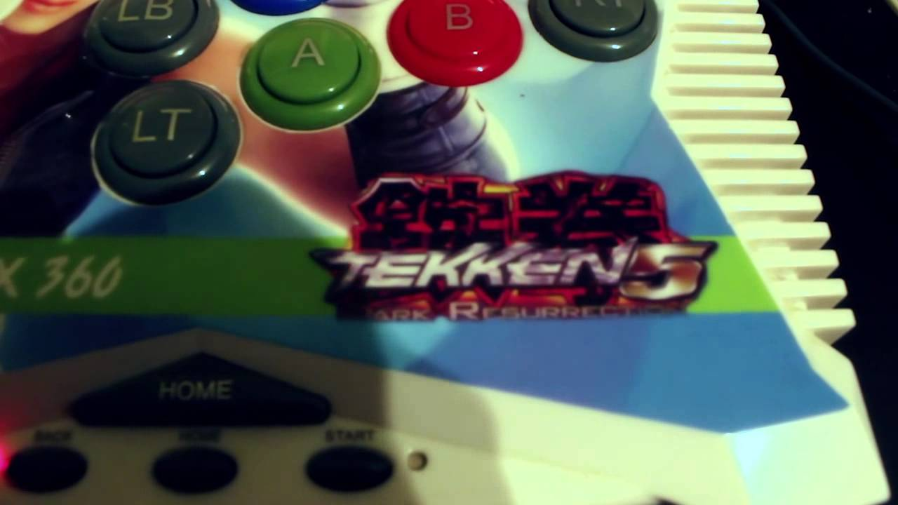 Warning Do Not Buy This Stick Tekken 5 Xbox 360 Chinese Knock Off Youtube