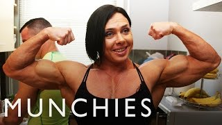The Diet of a Champion Female Bodybuilder