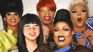 """The Queens Of Season 11 of """"RuPaul's Drag Race"""" Play """"Who's Who"""""""