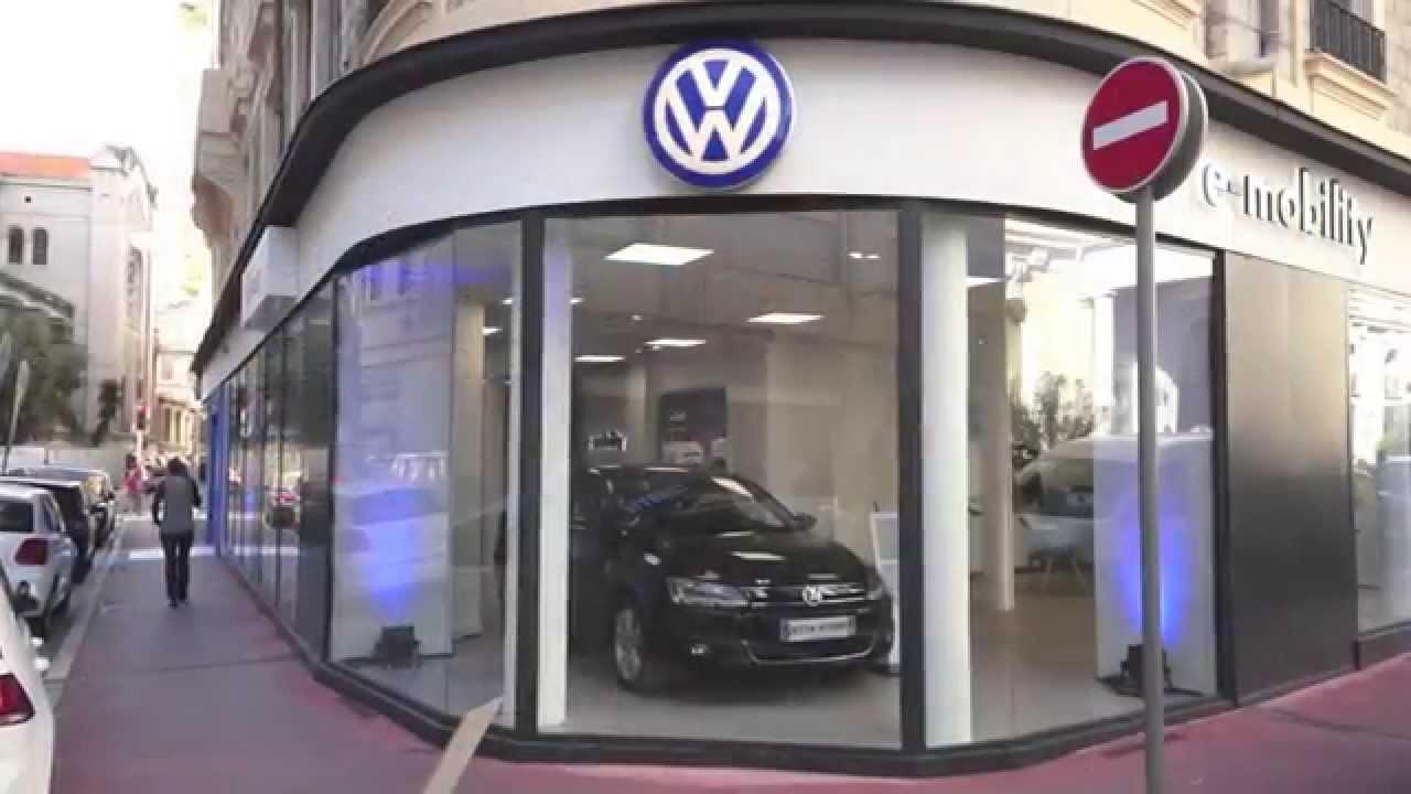 inauguration du 1er site mondial e mobility volkswagen nice youtube. Black Bedroom Furniture Sets. Home Design Ideas