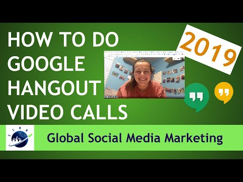 How To Do A Google Hangout Video Call 2019