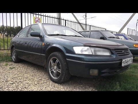 1997 Toyota Camry 2.2 XV20. Обзор интерьер, экстерьер, двигатель.