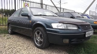 1997 Toyota Camry 2.2 XV20. Обзор (интерьер, экстерьер, двигатель).