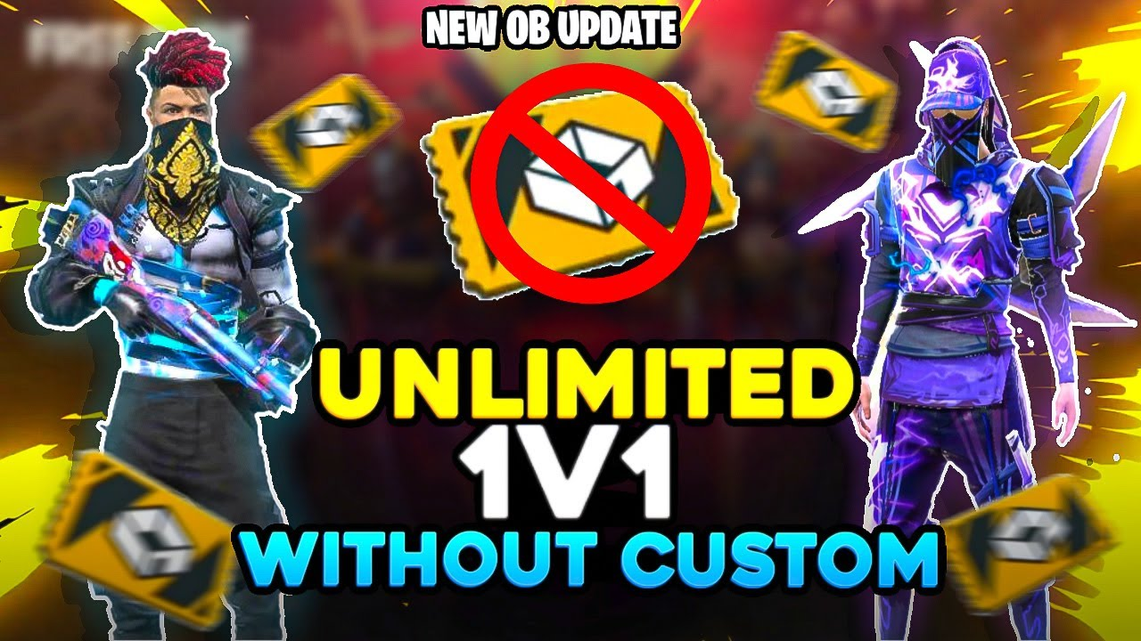 Unlimited 1v1 Without Custom Room Card    Desi Gamers