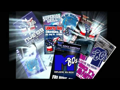 The M-80s - Birmingham's Best 1980s band! - YouTube