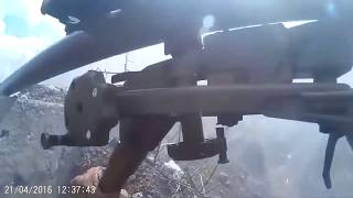 АТО.Бой в Авдеевке от 1-го лица.Обстрел ВСУ.2018