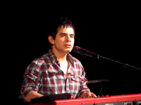 David Archuleta - To Be With You.  Pittsburgh, 2009