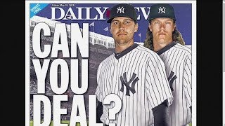 Would Mets trade Noah Syndergaard, Jacob deGrom to the Yankees?