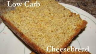 Atkins Diet Recipes: Fast Low Carb Cheese Bread