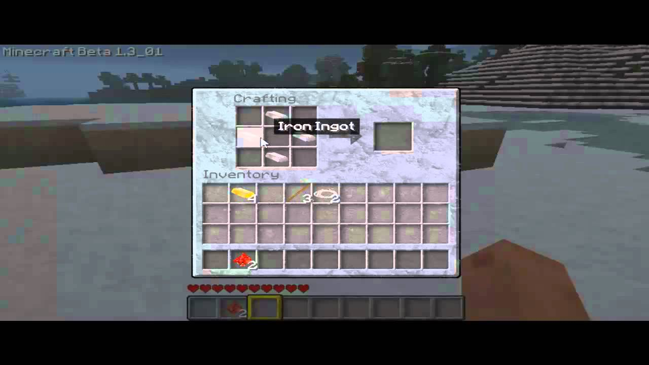wie baue ich einen kompass minecraft tutorial 4 youtube. Black Bedroom Furniture Sets. Home Design Ideas