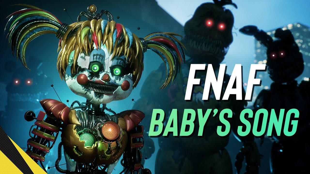 Ue Babys Song Fnaf Animated Music Video Youtube