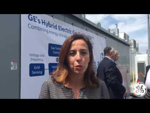 Selma Kivran, GE Power Services, on Benefits of World's First Hybrid Electric Gas Turbine
