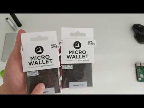 Micro Wallet by Paper Wallet