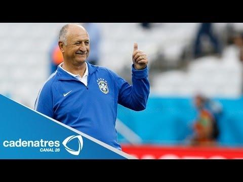 Luiz Felipe Scolari, estratega de Brasil, alerta y pide respeto por México