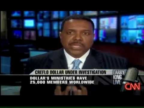Creflo Dollar On Larry King Live -EXPOSING CHARLATANS