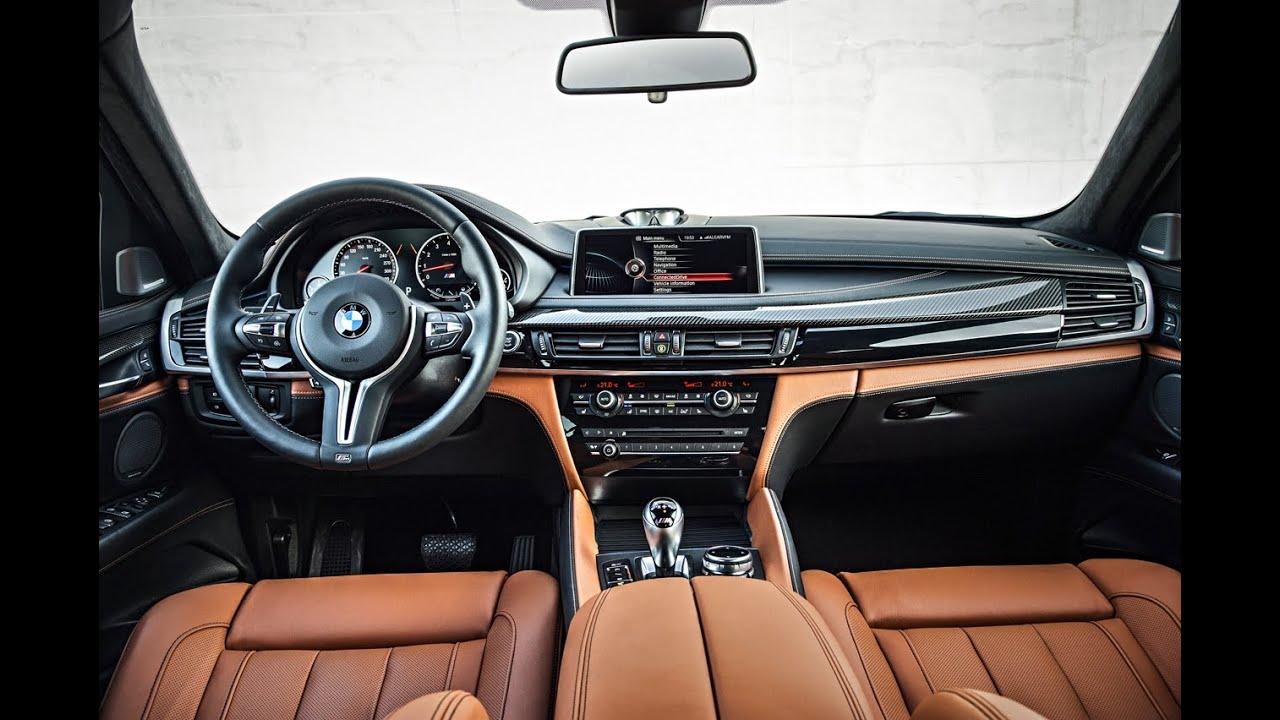 2015 BMW X6 M Interior  YouTube