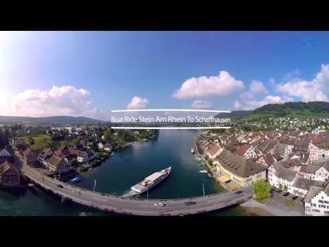 360° - Train & Boat ride - St. Gallen - Schaffhausen - Zürich