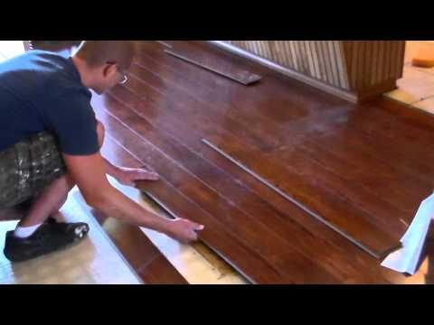 Installing Floating Wood Floor