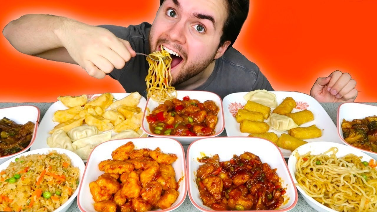 Trying P F Chang S Frozen Meals Orange Chicken Dumplings Noodles Egg Rolls Taste Test Youtube