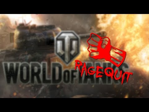 RAGEQUIT 😡 | World of Tanks