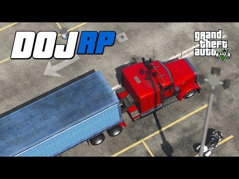 GTA V  DOJ - Episode 34 - Going to Truck School! (Civilian)
