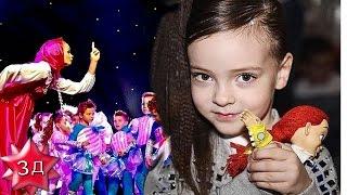 ДЕТИ ФИЛИППА КИРКОРОВА:  Алла Виктория танцует на большой сцене!