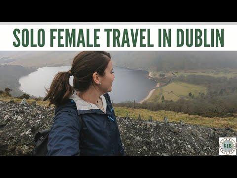 Solo Female Travel Ireland Vlog | Suitcase vs Backpack