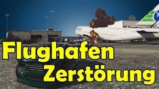 GTA 5: Flughafen Zerstörung Meine Meinung zu GTA V [HD] - TutorialChannel
