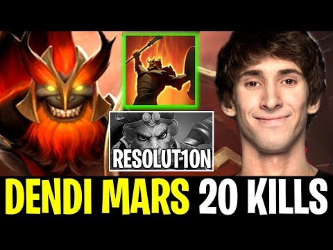 DENDI MARS Midlane Overpower New Hero vs Resolu1ton Dota 2 thumbnail