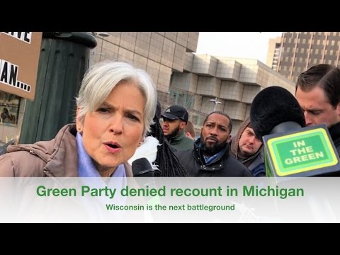 Michigan 2016 Presidential 🗳 Election Recount 🔥 HOT MESS