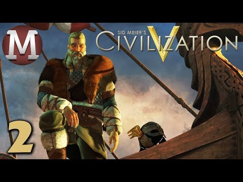 Civilization 5 #2 - Vox Populi - Archipelago Denmark